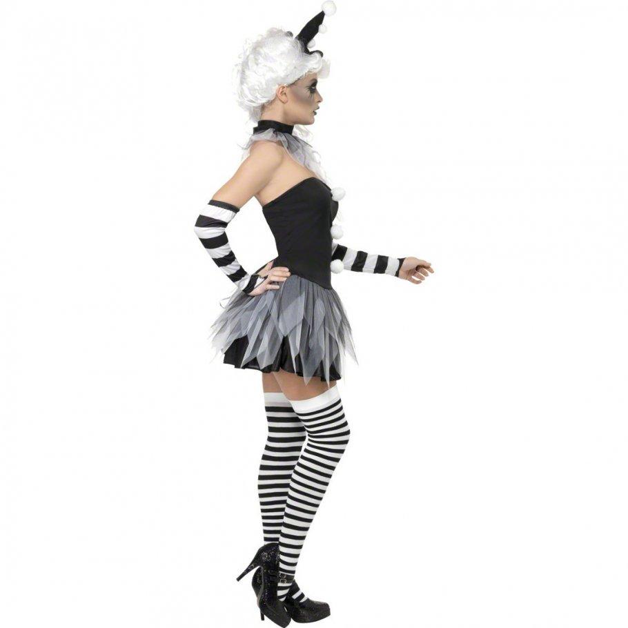 clownskost m l 44 46 clownkost me halloween clown clownskleid damenkost me 31 95. Black Bedroom Furniture Sets. Home Design Ideas