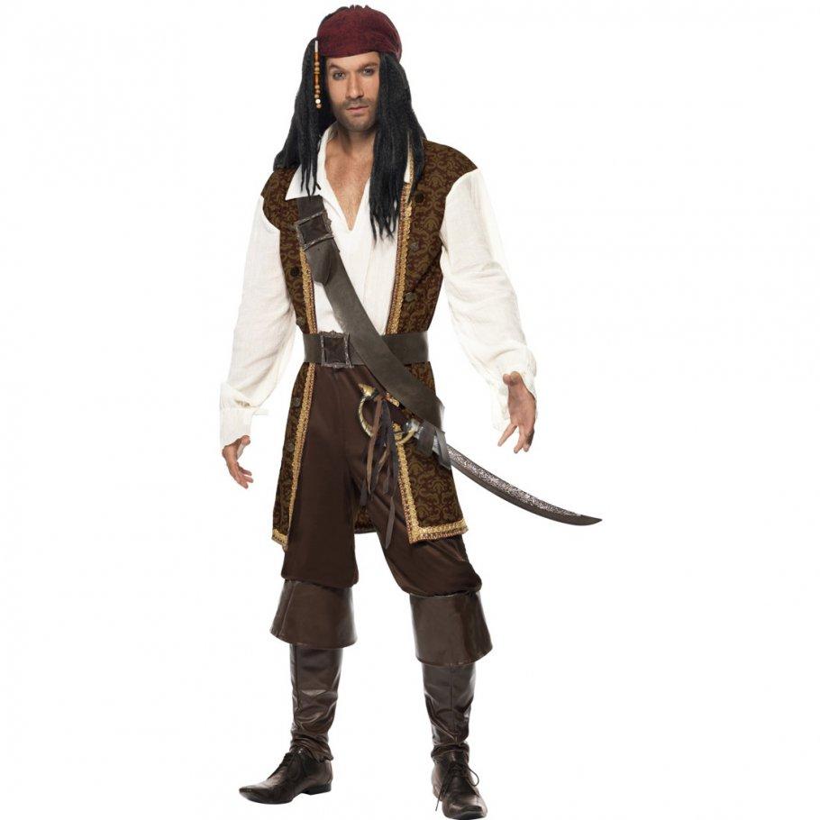 piraten kost m herren piratenkost m pirat verkleidung piratenoutfit piratenverkleidung seer uber. Black Bedroom Furniture Sets. Home Design Ideas