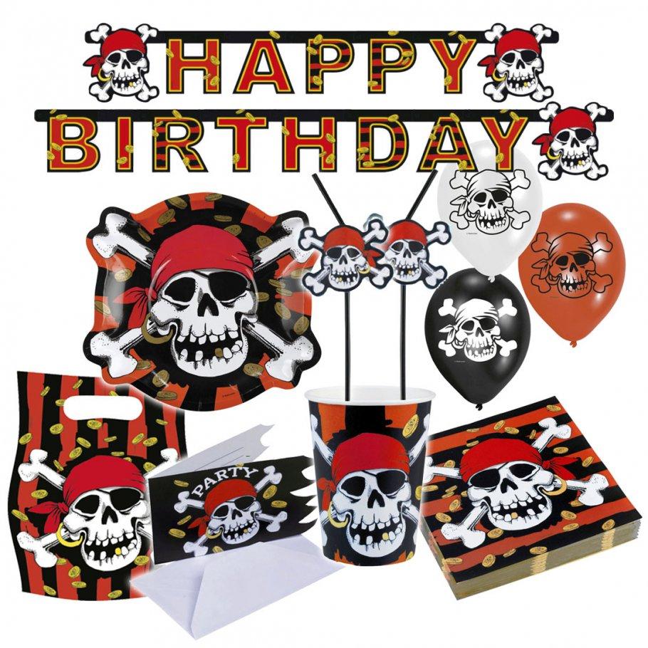 Piraten Party Deko Set Kindergeburtstag Partydeko, 1,99 €
