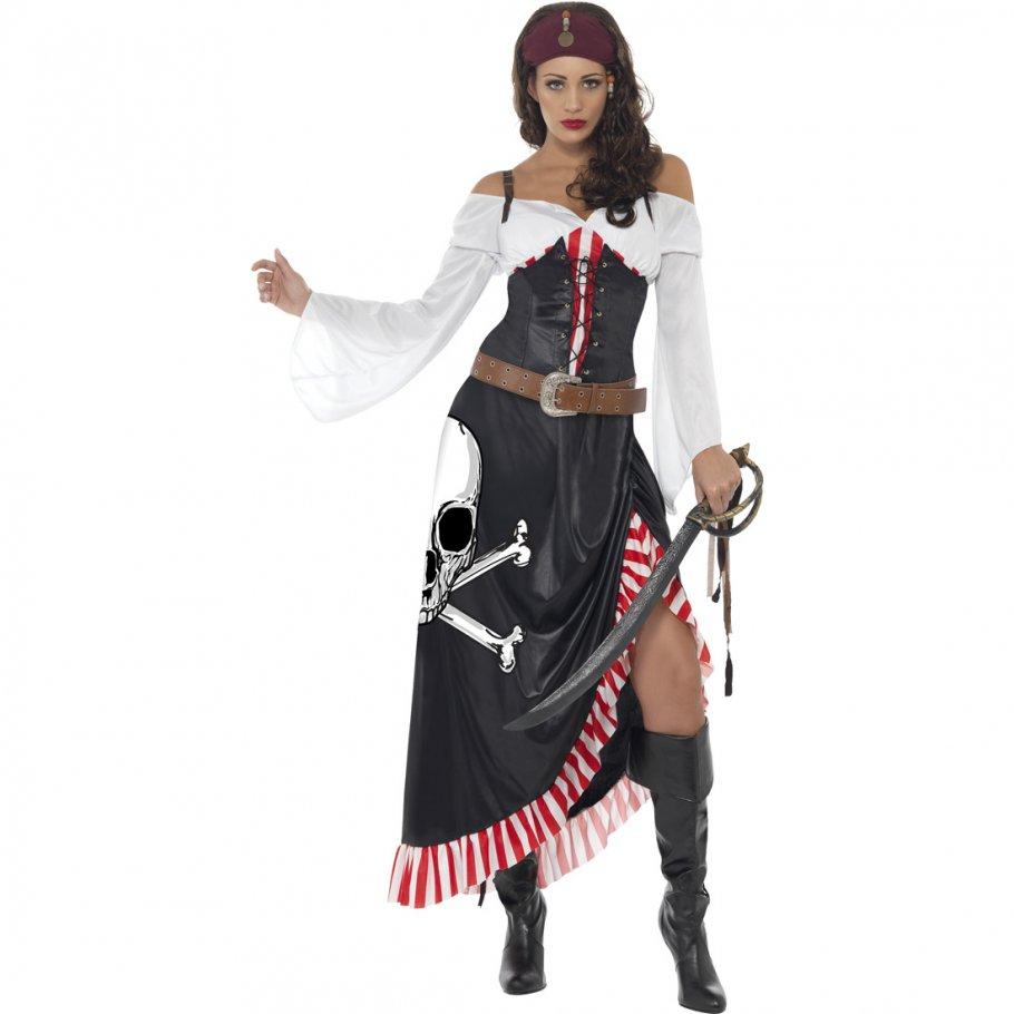 piratenkost m damen piratin kost m piratinnenkost m seer uber verkleidung piratenbraut kleid. Black Bedroom Furniture Sets. Home Design Ideas