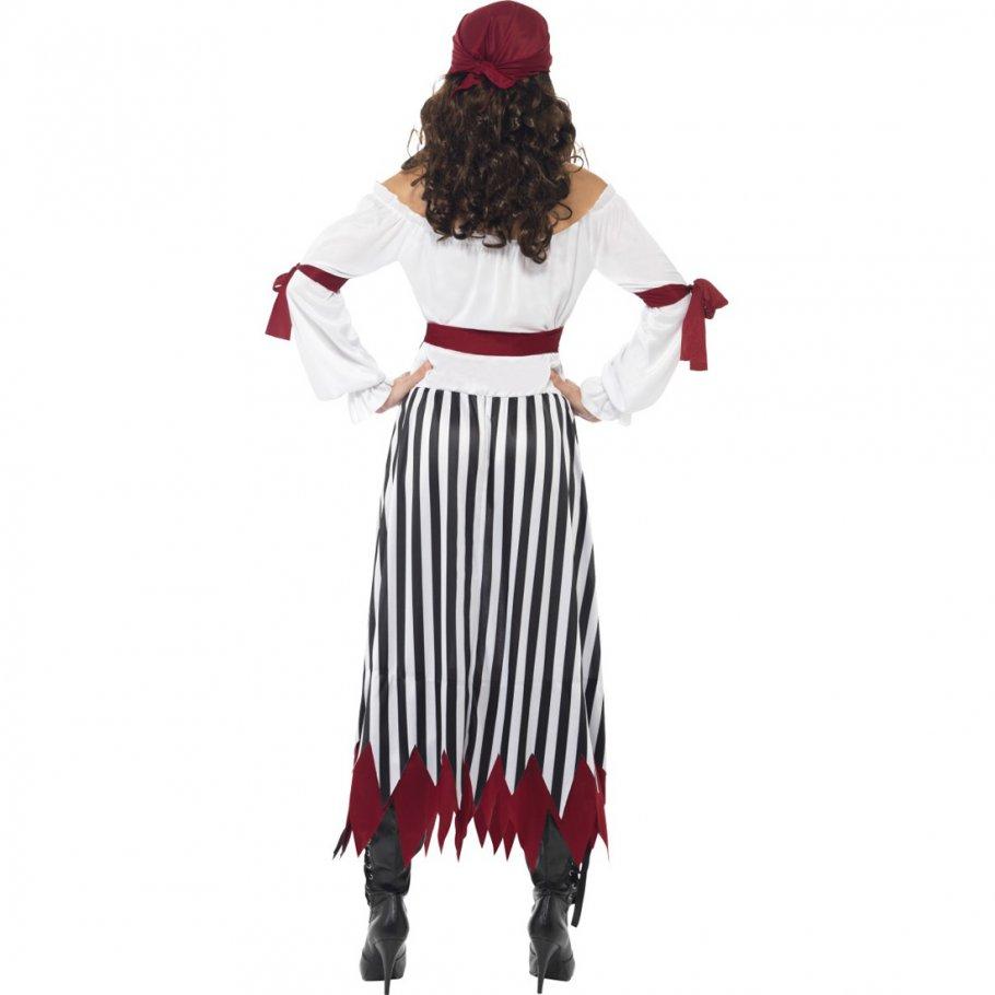 piratin kost m piratenbraut kleid m 40 42 piratenkost m damen piraten kleid piratenkleid piratin. Black Bedroom Furniture Sets. Home Design Ideas