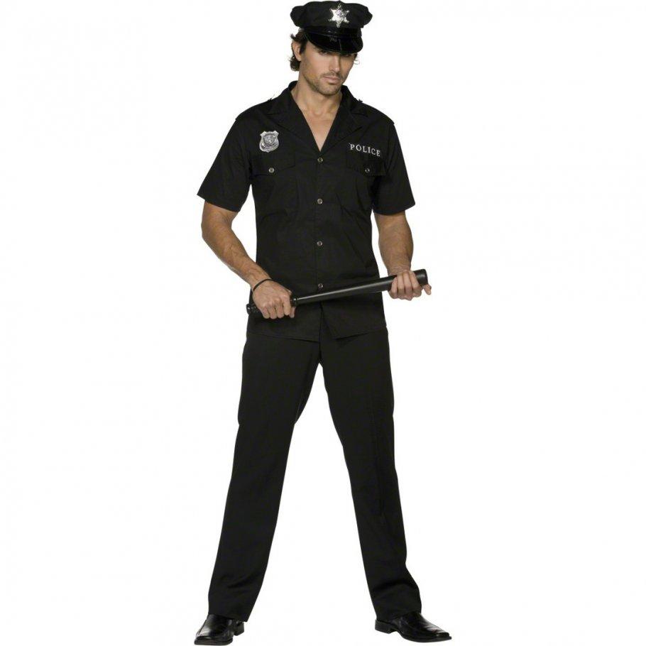 polizei kost m herren sexy polizist polizeikost m polizistenkost m stripperkost m m nnerballett. Black Bedroom Furniture Sets. Home Design Ideas