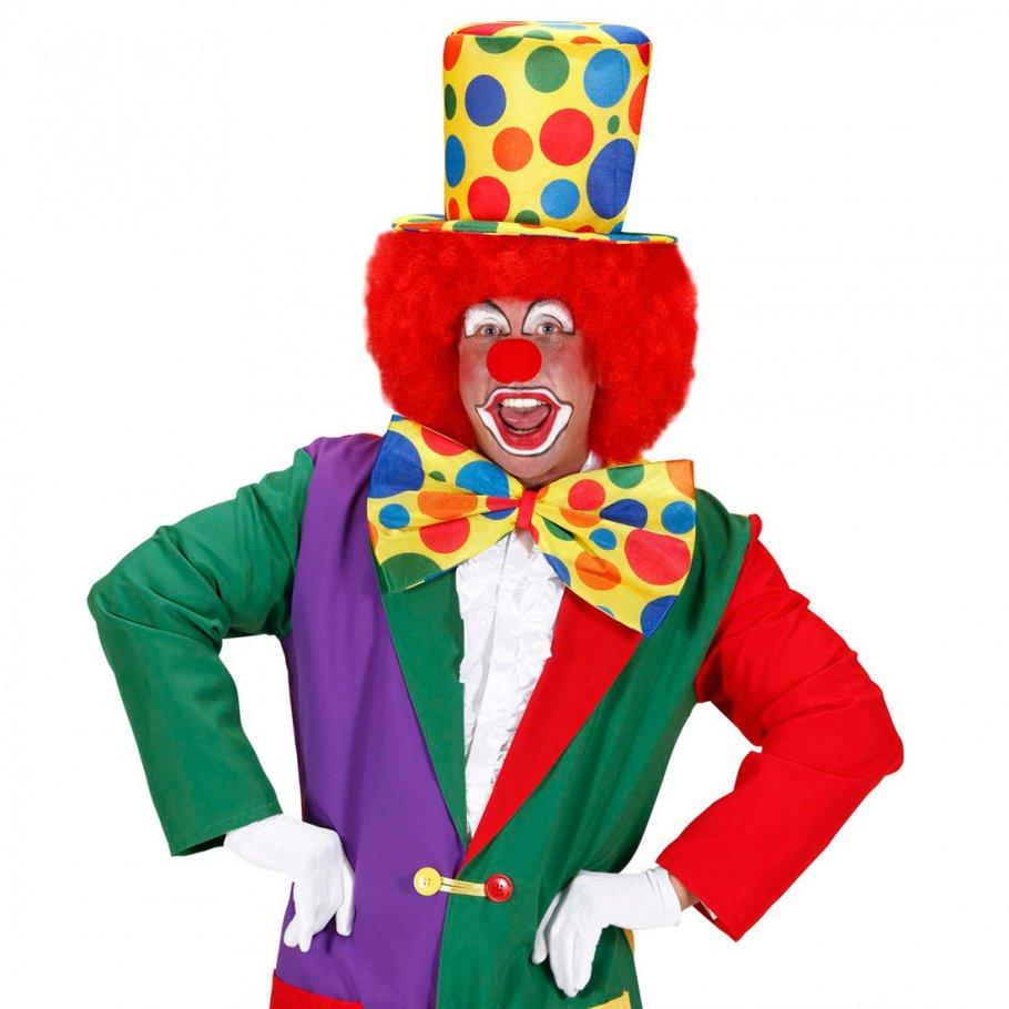 Riesen clown fliege jumbo party schleife bunt gepunktet for Clown schminken bilder