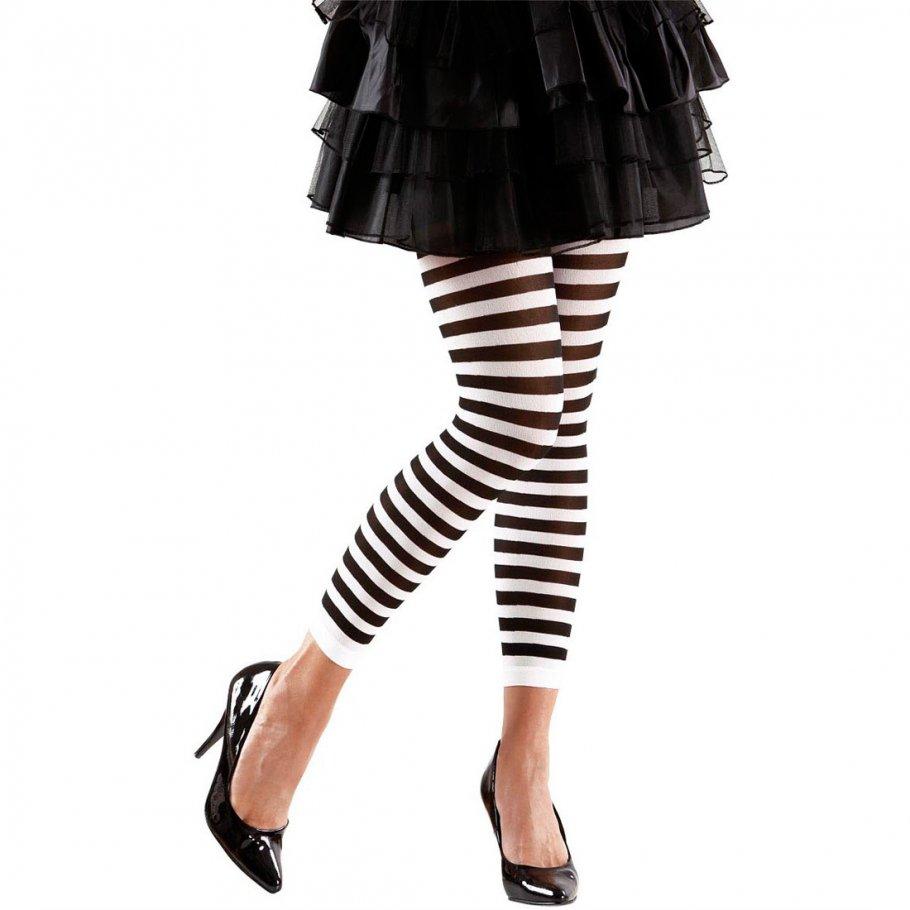 ringel leggings gestreifte legging schwarz wei 5 99. Black Bedroom Furniture Sets. Home Design Ideas