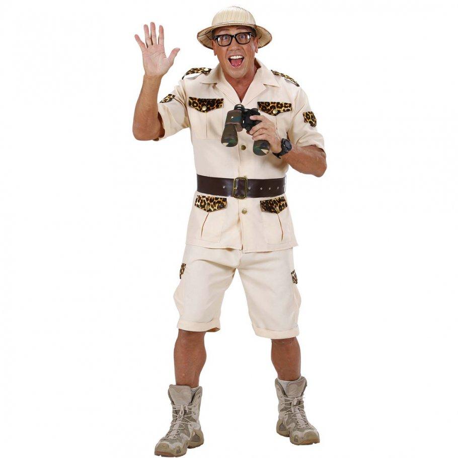 Safari Kostüm Dschungel Herrenkostüm Forscher ...
