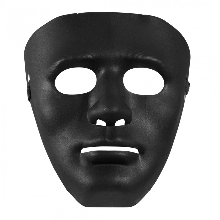 schwarze anonymous maske vendetta venezianische maskerade. Black Bedroom Furniture Sets. Home Design Ideas