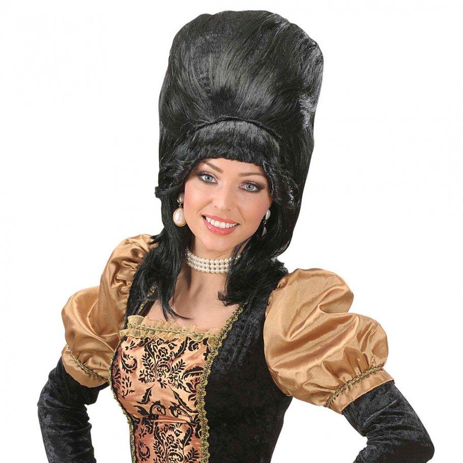 schwarze baroness per cke barock rokokoper cke damen 15 99. Black Bedroom Furniture Sets. Home Design Ideas