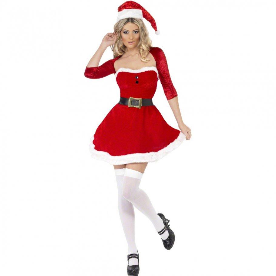 Sexy Weihnachtsfrau Damenkostüm Weihnachtskostüm Damen ...