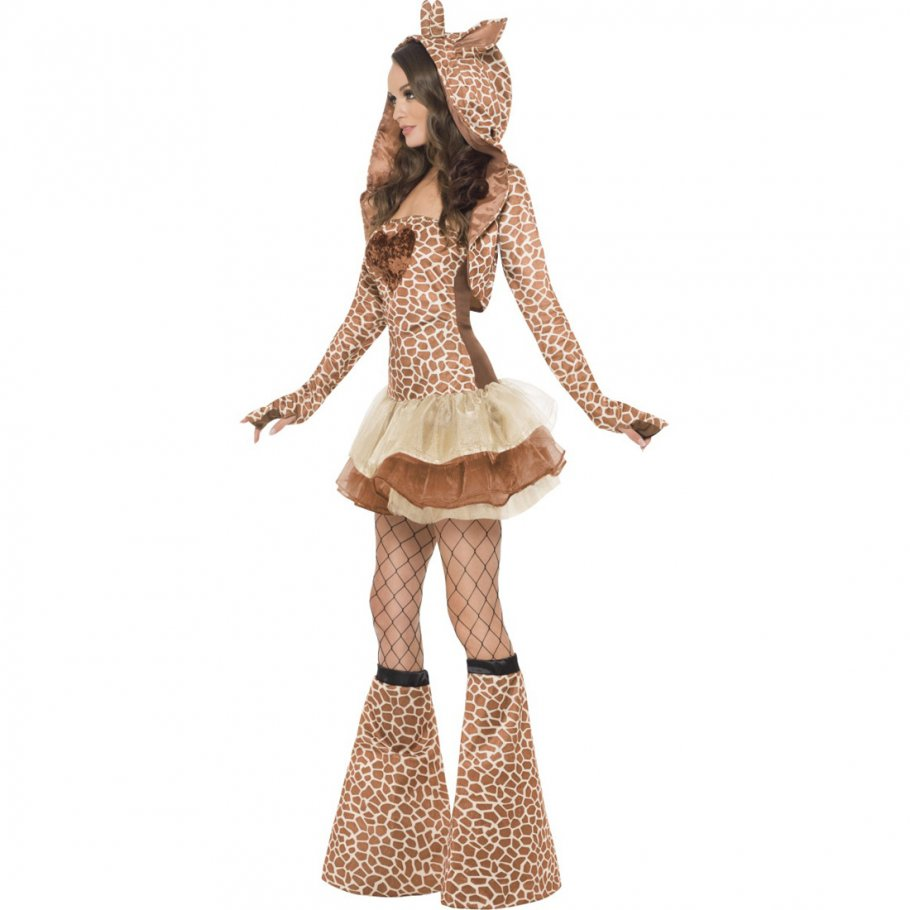 sexy giraffe kost m braun l 44 46 giraffenkost m 49 99. Black Bedroom Furniture Sets. Home Design Ideas