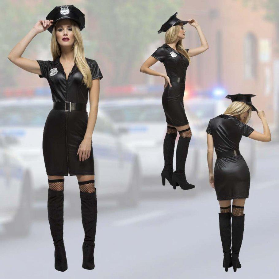 Sexy Polizistin Kostüm Cop Uniform, 29,99