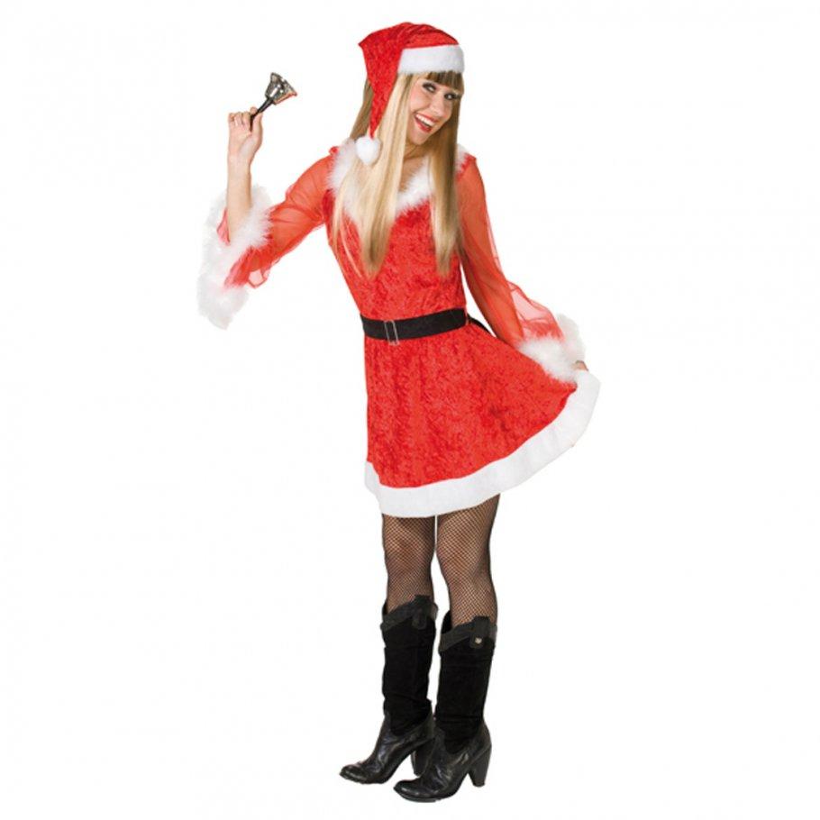 sexy weihnachtskleid kost m weihnachtsfrau 18 75. Black Bedroom Furniture Sets. Home Design Ideas