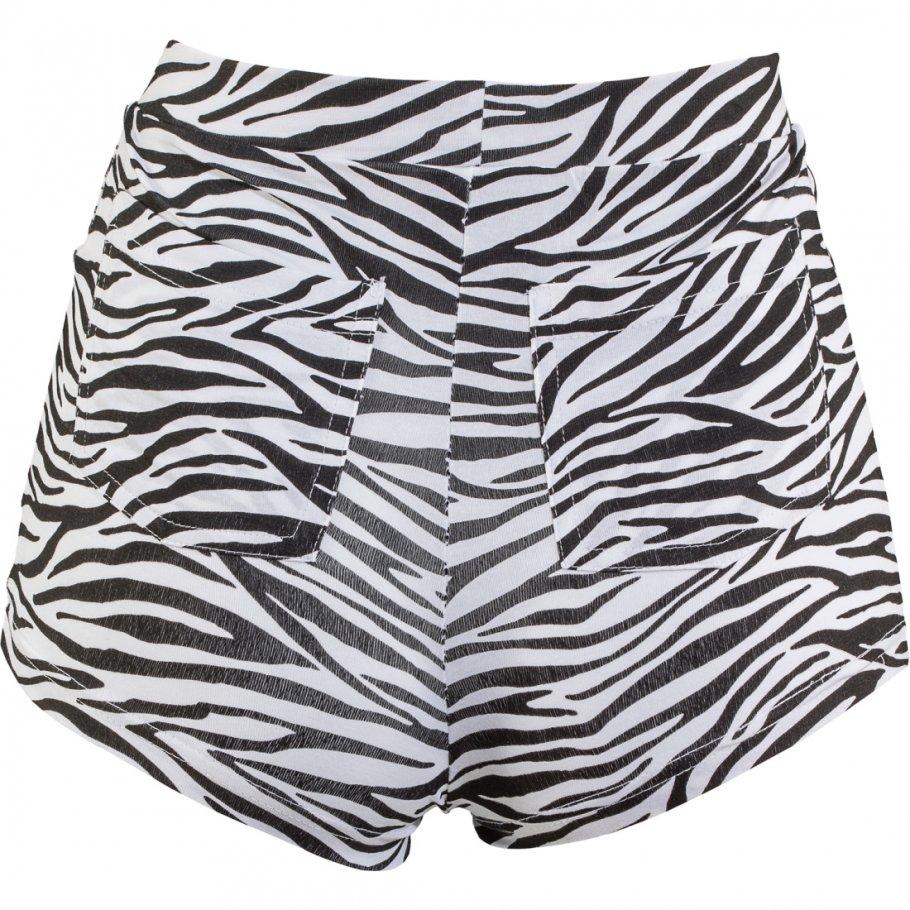 shorts zebralook hotpants zebraprint s m 34 40 11 99. Black Bedroom Furniture Sets. Home Design Ideas