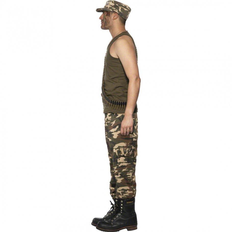 soldaten kost m armeeverkleidung khaki m 48 50 armee. Black Bedroom Furniture Sets. Home Design Ideas