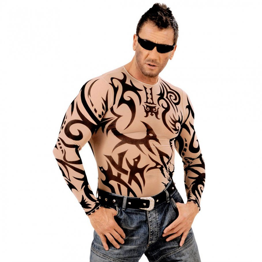 tattoo t shirt tribal tattoo sleeve 13 99. Black Bedroom Furniture Sets. Home Design Ideas
