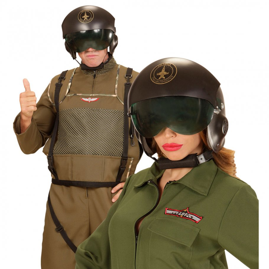 top gun piloten helm jet pilotenhelm mit visier jethelm. Black Bedroom Furniture Sets. Home Design Ideas