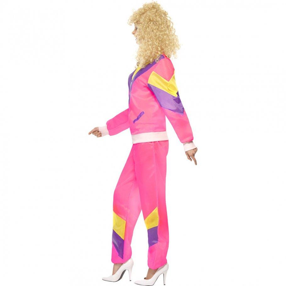 trainingsanzug kost m 80er jahre outfit damen jogginganzug