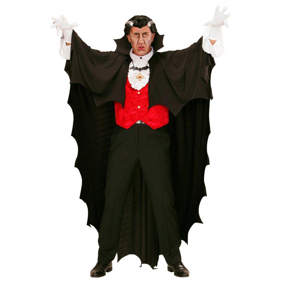 vampirumhang fledermaus umhang 150 cm l nge vampir cape gewand dracula mantel schwarzer umhang. Black Bedroom Furniture Sets. Home Design Ideas