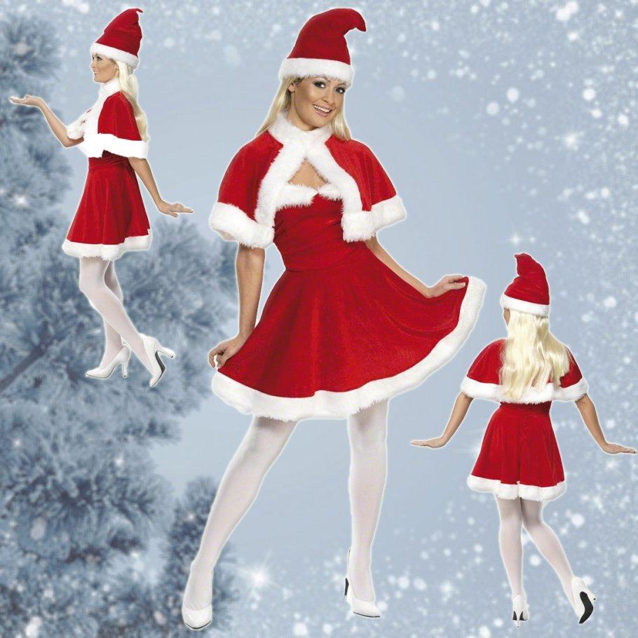 weihnachtsfrau kost m weihnachtskost m frau 42 99. Black Bedroom Furniture Sets. Home Design Ideas