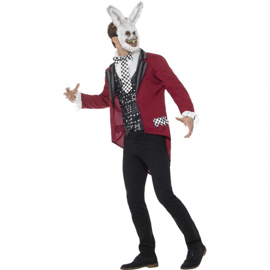 Weißer hase kostüm