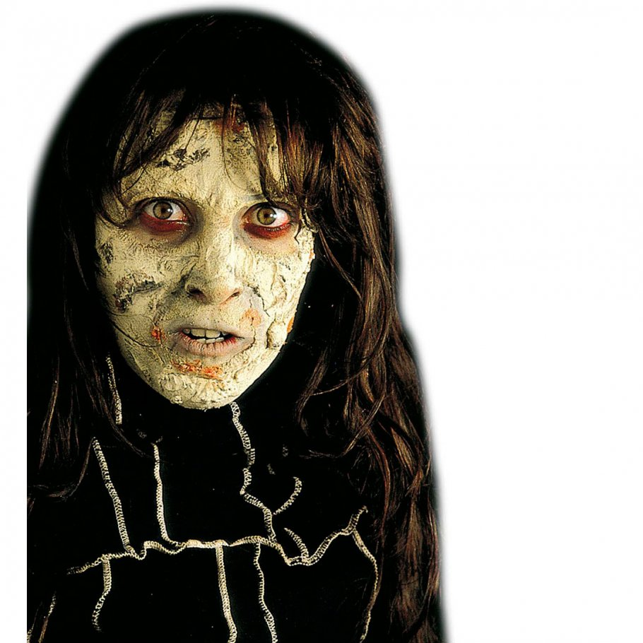 zombie haut make up halloween schminke grau hexen makeup. Black Bedroom Furniture Sets. Home Design Ideas