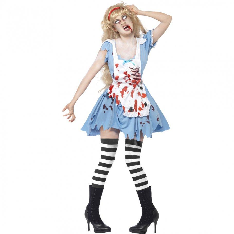 zombiekost m damen zombie krankenschwester kost m halloween damenkost m nurse outfit. Black Bedroom Furniture Sets. Home Design Ideas