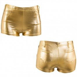 Goldene Hotpants Sexy Shorts L/XL 42 ? 48