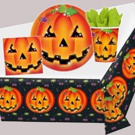 Halloween Party Kürbis Dekoration Halloweenparty Kinder Deko Partyset