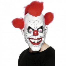 Horror Clown Maske Clownsmaske 3/4