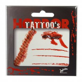 Halloween Tattoos Horror Tattoo Set Horror