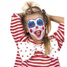 Horror clown make up und kost m pictures to pin on pinterest for Clown schminken bilder