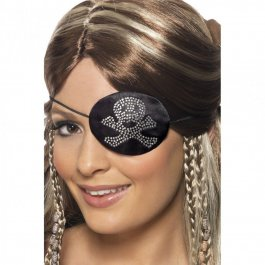Piratenklappe Augenklappe Piratenaccessoires