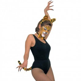 Verkleidungsset Tiger Lady dress Up Set