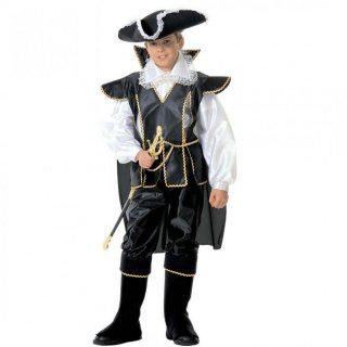 Piratenkostüm Kinder Piraten Musketier Kostüm 128 cm 5-7 Jahre