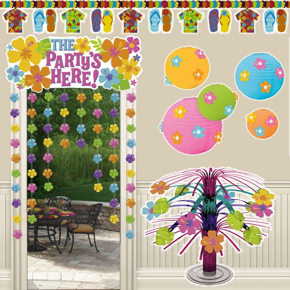 Hawaii Deko Partyzubeh R Party Dekoration Accessoires