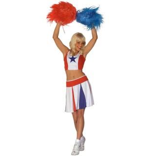 61541c1eb70 Kleidung & Accessoires Kinder Cheerleader Kostüm Cheerleaderkostüm pink S  128 cm Cheer Leader Mädchen Kostüme