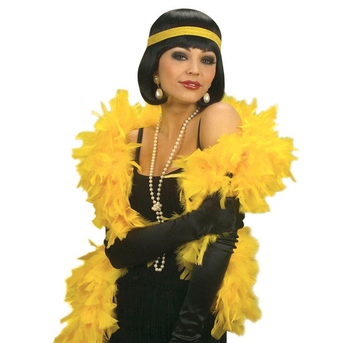 "1,80m Federboa /""Gala/"" Fasching Karneval Accessoires"
