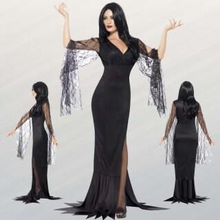 Schwarze Witwe Kostum Dark Lady Faschingskostum 24 95