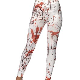 Blutige Zombie Leggings Horrorhose Halloween