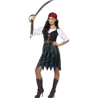 Piratenkostüm Damen Piratinnenkostüm L 44/46