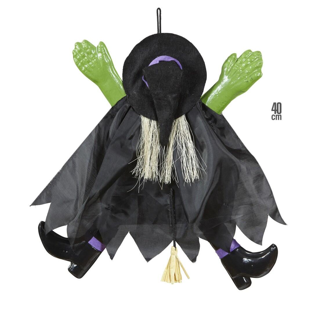 Fliegende Deko Hexe Halloween Hexen Dekoration 40 Cm 8 99