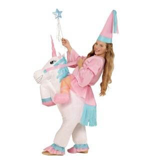 Aufblasbares Einhorn Kostum Pferdekostum Kind 39 99