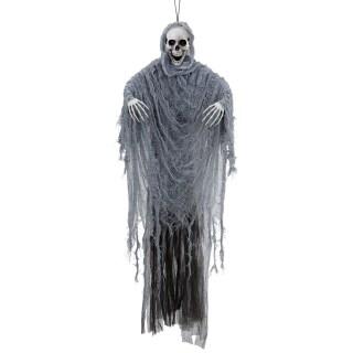 Schreiender Grim Reaper Mit Licht Und Sound Halloween Deko Skelett 10 28 99