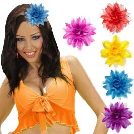 Hibiskus Blume Haargummi Hawaii Haarschmuck Hula Zopfgummi Haarblume Schmuck