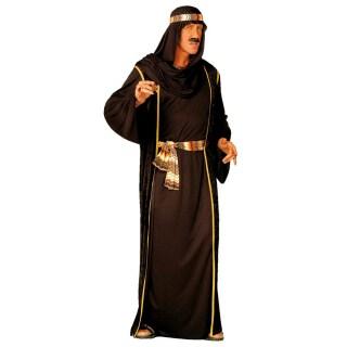 Scheich Kostum Araber Orient Schwarz Gr L 33 99