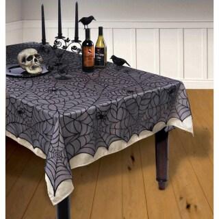 Halloween Tischdecke Tischdeko Lumpengewebe Lumpen Dekotuch Deko Dekoration Party- & Eventdekoration