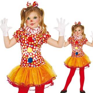 Clownskostum Madchen Clown Kinderkostum 22 95