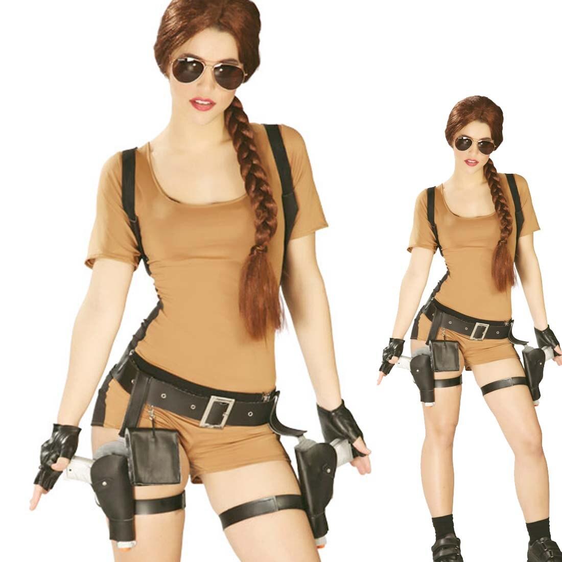 Lara Croft Kostüm Tomb Raider Damenkostüm L 4244 2699