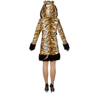Tiger Dress Damen Tigerkostüm Frauen