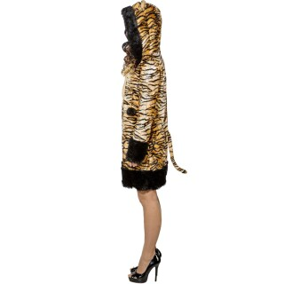 Tiger Dress Damen Tigerkostüm Frauen 38/40 (S/M)