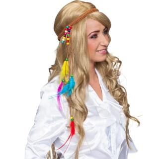 5fe445b8d616a4 Hippie Haarband 70er Stirnband mit Federn, 5,99 €